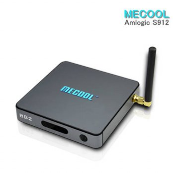 [globalbuy] MECOOL BB2 Android TV Box Amlogic S912 64 bit Octa core Set Top Box 2GB 16GB B/3693711