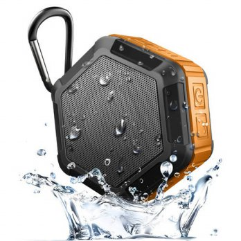 [globalbuy] Wireless Bluetooth 4.0 portable outdoor mini speaker IP65 waterproof Subwoofer/3693434