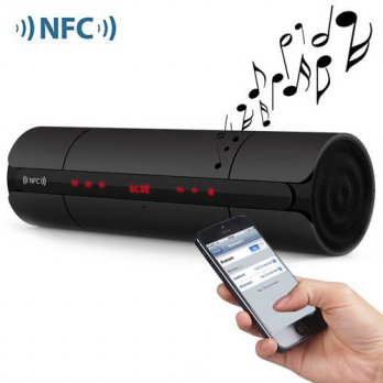 [globalbuy] NEW KR8800 NFC FM HIFI Bluetooth Speaker Wireless Stereo Loudspeakers Super Ba/3693362
