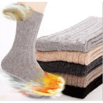 [globalbuy] (5 pairs = 10 pieces price) 2015 autumn winter 80G high-end mens casual socks /4212967