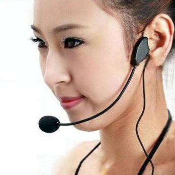 [globalbuy] hot selling fashion New Educational lectures Headset Microphone Headset Amplif/3693353