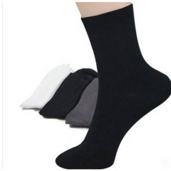 [globalbuy] 0.55 30paris=1lot Mens 4 Seasons Business Plain Sock Supernova Sale Christmas /4212855