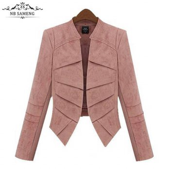 [globalbuy] Women Suit Coat Slim Female Blazer Long Sleeve Blazers Jacket Office Ladies Sh/4220363