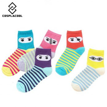 [globalbuy] Cartoon couples cool socks warm casual novelty happy socks men calcetines char/4212198