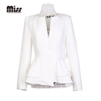 [globalbuy] MISS 2015 XXL Women Formal Blazer And Jackets Business Elegant Ladies Suits Wo/4220340