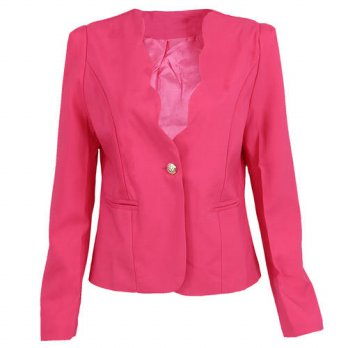 [globalbuy] IMC Autumn casual jackets women slim short design suit jackets office women co/4220292