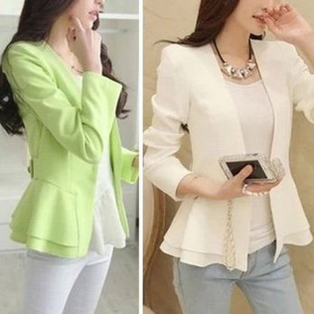 [globalbuy] New Fashion Women OL Business Slim Blazer Suit NEW Casual Long Sleeve Jacket T/4220285