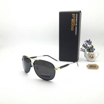 Kacamata Porsche Design 8816 Black Gold Kacamata Polarized