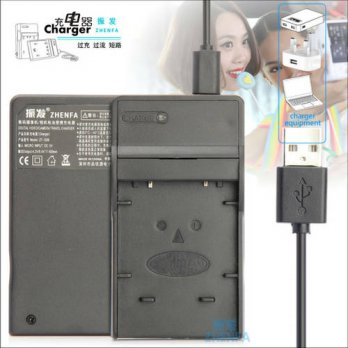 [globalbuy] zhenfa USB Battery Charger for FUJIFILM FinePix T190 T200 T205 T300 T305 T350 /3691682