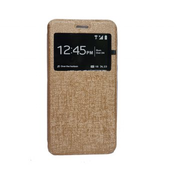 Delkin Flip Cover Oppo F1 Plus R9 - Gold