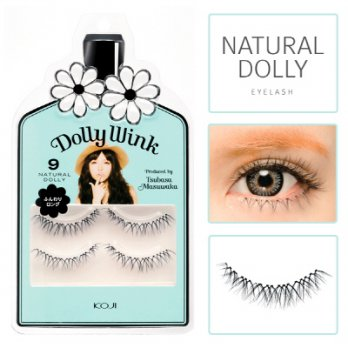 Dolly Wink Eyelash No.9 Natural Dolly