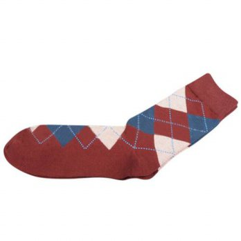 [globalbuy] Men Combed Cotton Brand Sock Colorful Casual Sock/4212155