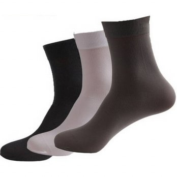 [globalbuy] 10 Pairs/ Lot 2015 Spring Summer Thin Man Sock Classic Business Calcetines Men/4212061