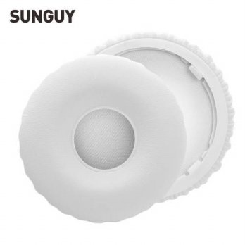 [globalbuy] White Replacement Headphone Ear Pads Cushions for Beats Wireless 1st Gen Prote/3691377