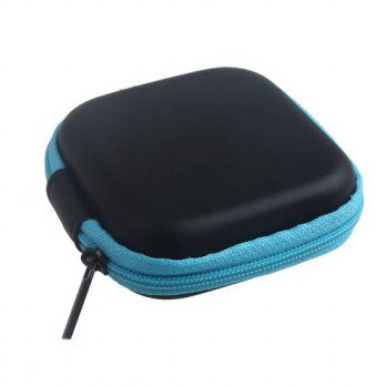 [globalbuy] Top Quality Zipper Earphone SD Card Carrying Bag Big Storage Box Case Carrying/3691456