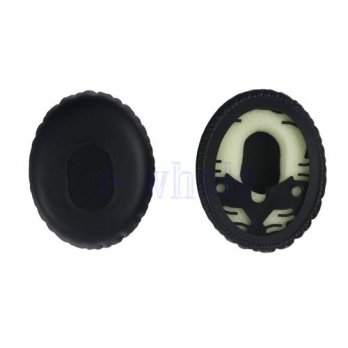 [globalbuy] 2 Pieces Earpads Ear Pads Cushions Suitable For QC3 & On-Ear OE1 Headset AA292/3691452
