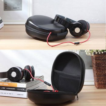 [globalbuy] Universal Portable Shock Resistant Headphone Headset EVA Hard Carrying Storage/3691429