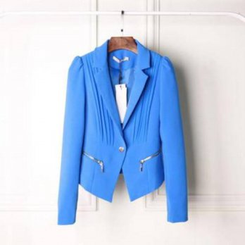[globalbuy] 6 colour candy colour 2016 one bottom discount price fashion women blazer suit/4220141