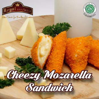 [Royal Sandwich] Cheezy Mozarella Sandwich - Halal, Non MSG, Non Pengawet, Made by order