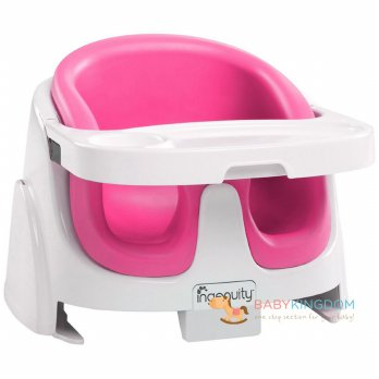 P.R.O.M.O Bright Starts Ingenuity Baby Base 2-in-1 - Magenta