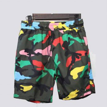 [globalbuy] New Fashion Shorts Men Summer Casual Camouflage Shorts Beach Trousers Straight/4211583