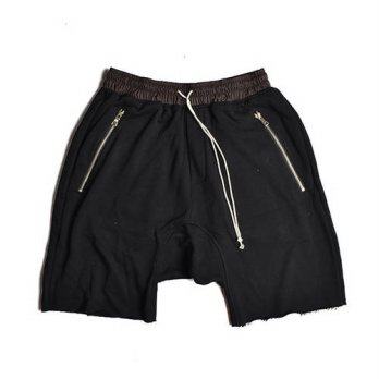 [globalbuy] Hot sale men hip hop harem shorts kanye drop crotch boardshorts mens justin bi/4211526