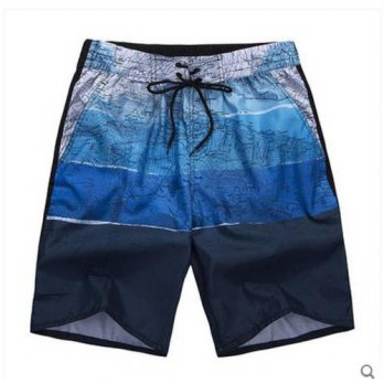 [globalbuy] 2016 Summer Mens Loose Knee Length Shorts Casual Large Size Printing Leisure S/4211500