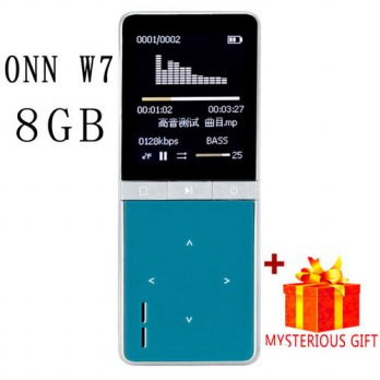 [globalbuy] ONN W7 Lossless Digital Hifi Flac Sport Audio Mp 3 Screen Music Mp3 Player Wit/3690577