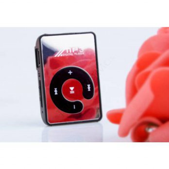 [globalbuy] 2016 NEW Mini Clip Mp3 Player/sport Mirror Mp3 SD/TF card C Button MP3 Music M/3690493