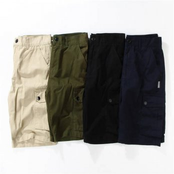 [globalbuy] Subciety Summer Style Camouflage Army Military Shorts Men Women High Quality C/4211409