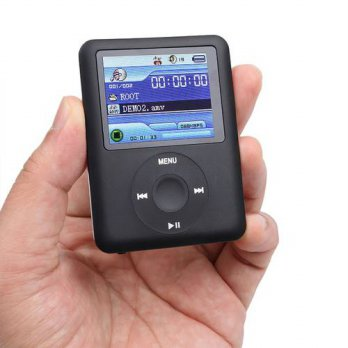 [globalbuy] FM MP3 Player 8G E-BOOK Reading Player LCD Display Media Video Audio 1.8 Scree/3690343