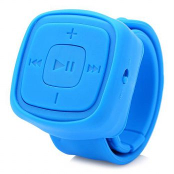 [globalbuy] Mini Watch Type Portable Sport MP3 Player Support TF Card Micro Slot Soft Sili/3690569