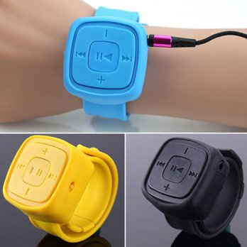 [globalbuy] Fashion USB 2.0 Mini Sports Wrist MP3 Music Player Supported 32G Micro TF Card/3690361