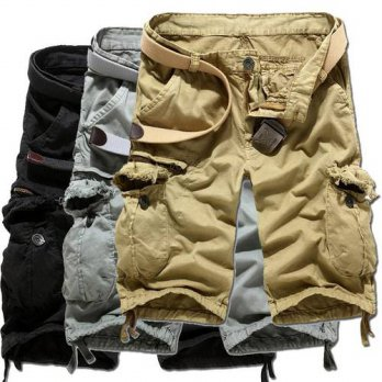 [globalbuy] summer style military shorts men Cool summer loose, casual cargo shorts fifth /4211362