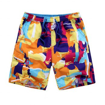 [globalbuy] Bermuda Masculina Clothing 2016 New Summer Beach Shorts Mens Wear Leisure Comf/4211356