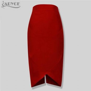 [globalbuy] 2016 new arrival fashion sexy retail wholesale 90 thick rayon HL bandage skirt/4202341