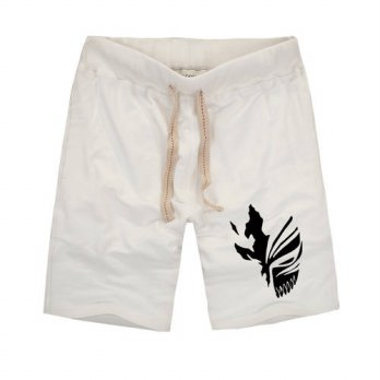 [globalbuy] Unique Design Summer Fashion Anime BLEACH Shorts Cosplay Cartoon Kurosaki Ichi/4211306
