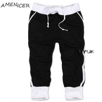 [globalbuy] 2016 Famous Brand Mens Fashion Jogger Shorts Drawstring Compression Clothing T/4211291