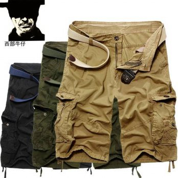 [globalbuy] summer style military cargo shorts men Summer mens casual shorts men tooling K/4211242