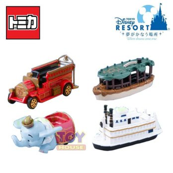 Tomica Disney Resort 35th August 2018 set of 4
