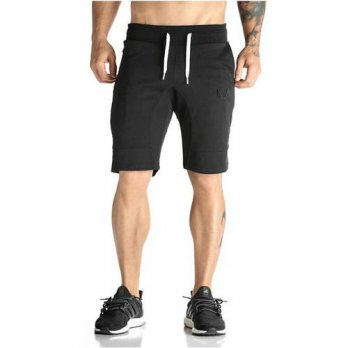 [globalbuy] Man Shorts Mens Short Trousers 2016 Casual Calf-Length Jogger Mens Shorts Swea/4211235