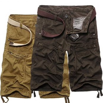[globalbuy] summer style military shorts men Fifth summer casual shorts Korean tide male t/4211222