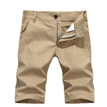 [globalbuy] Hot saleNew fashion mens Shorts Men casual summer Shorts Men solid color beach/4211212