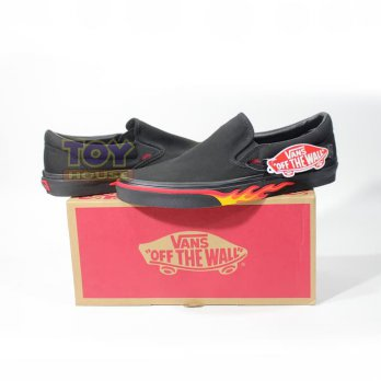 VANS FLAME WALL CLASSIC SLIP-ON SNEAKER ORIGINAL