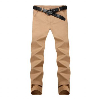 [globalbuy] Hot selling 2016 new mens fashion casual pants new design high quality cotton /4210542