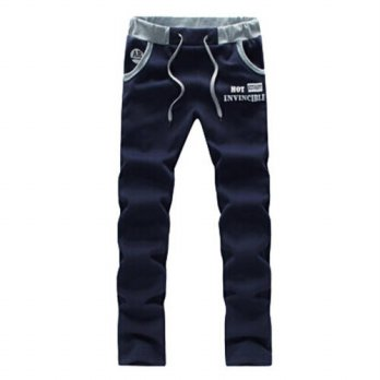 [globalbuy] 2015 spring Mens Star Printing personalized Pants Jogger Pants Military Outdoo/4210537