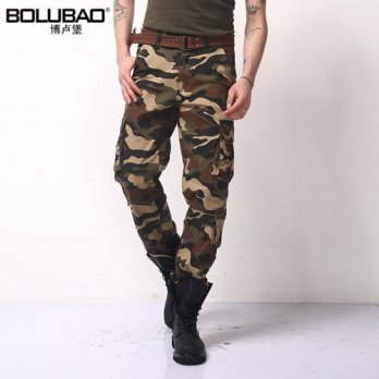 [globalbuy] 2016 New Arrival Brand Clothing Autumn Men Pants Fashion Military Mens cargo P/4210512