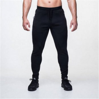 [globalbuy] New Hot Mens Fitness Pants Cotton Trousers Men Pants Casual Pencil Pant Printi/4210555