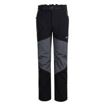 [globalbuy] Hot Sale Outdoors Trekking Windproof Water Repellent Trousers Breathable Doubl/4210457