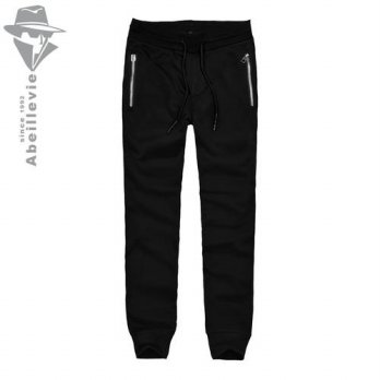 [globalbuy] Abeillevie New Fashion French Terry Cotton Mens Pants Slim Fit Workout SweatPa/4210450